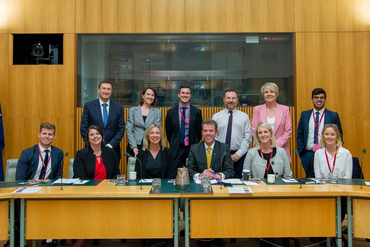 Round table in Canberra, 2019.