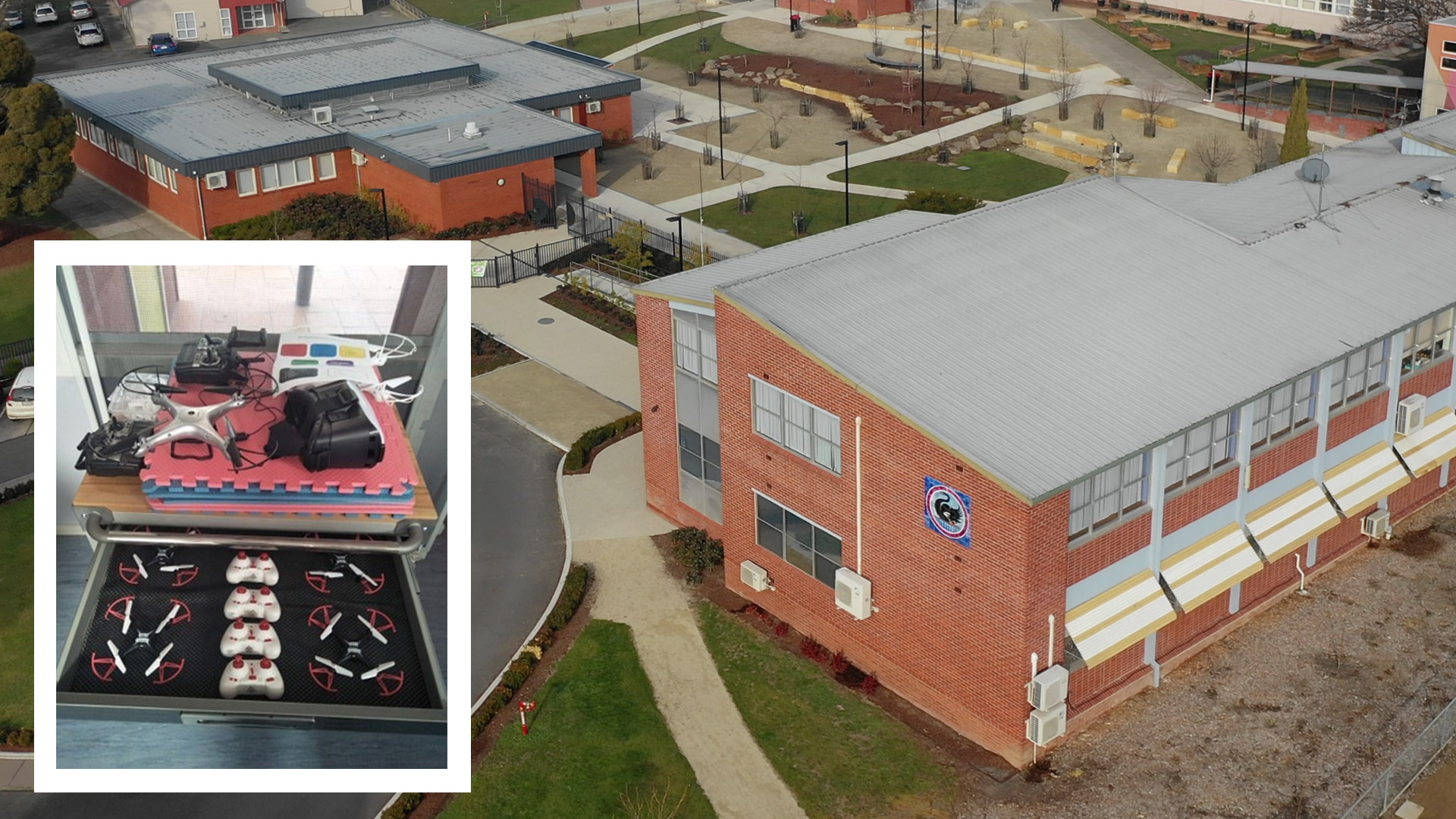 Drones are an important aspect of STEM studies at New Norfolk High School
